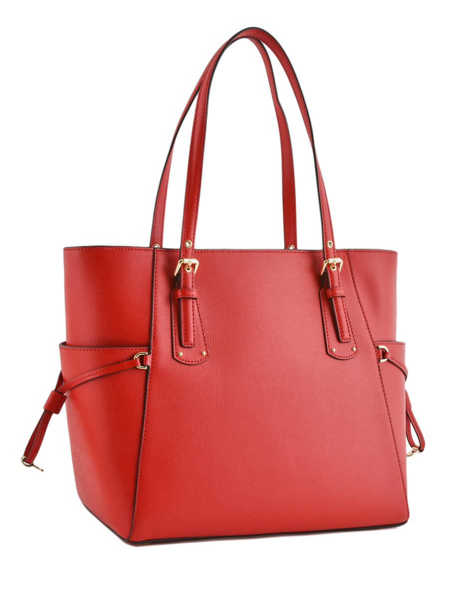 73b895c54e ... Large Leather Tote Bag Voyager Michael kors Red voyager H7GV6T9L other  view 4 ...