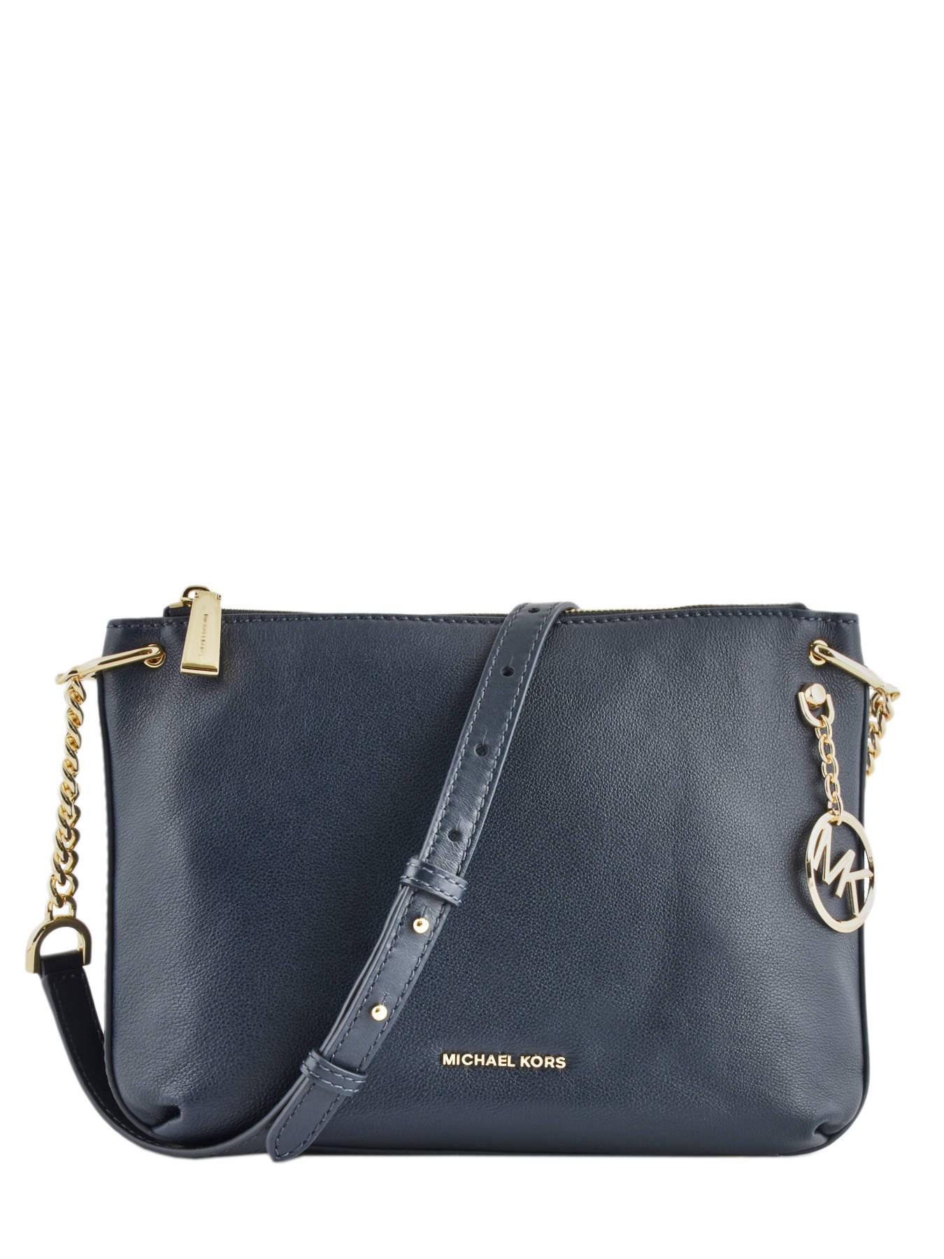 7e759641a6d51 ... Shoulder Bag Lilie Leather Michael kors Blue lilie S9G0LM7L ...