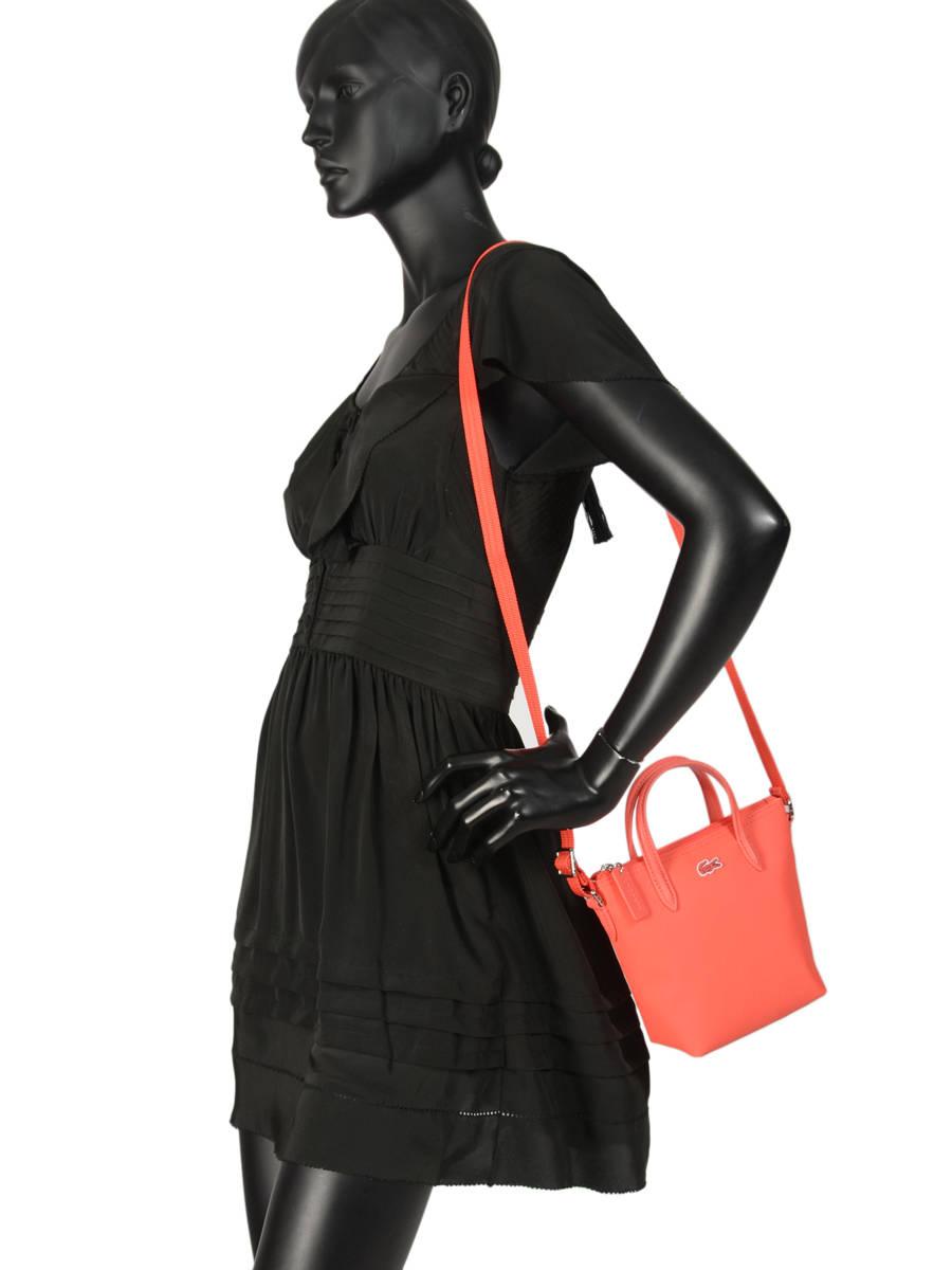 9d81a724eb9 ... Crossbody Bag L.12.12 Concept Lacoste Black l.12.12 concept NF2609PO  other view 2 ...
