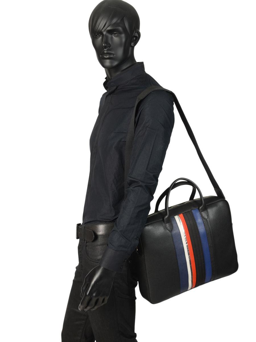 5bf76be881 Serviette Longchamp 2165126 noir nickel - livraison gratuite