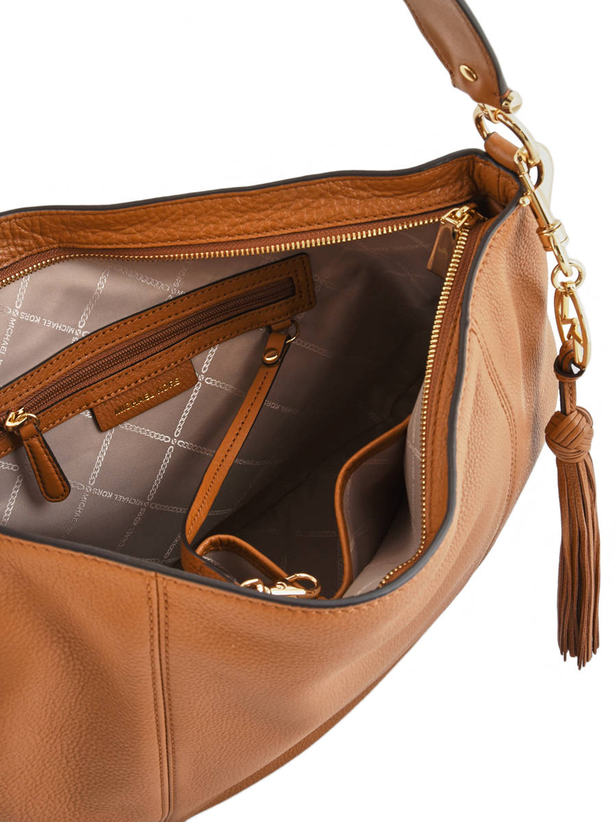 7bb6493664 Hobo Bag Brooke Leather Michael kors Brown brooke S9GOKH7L other view 4 ...