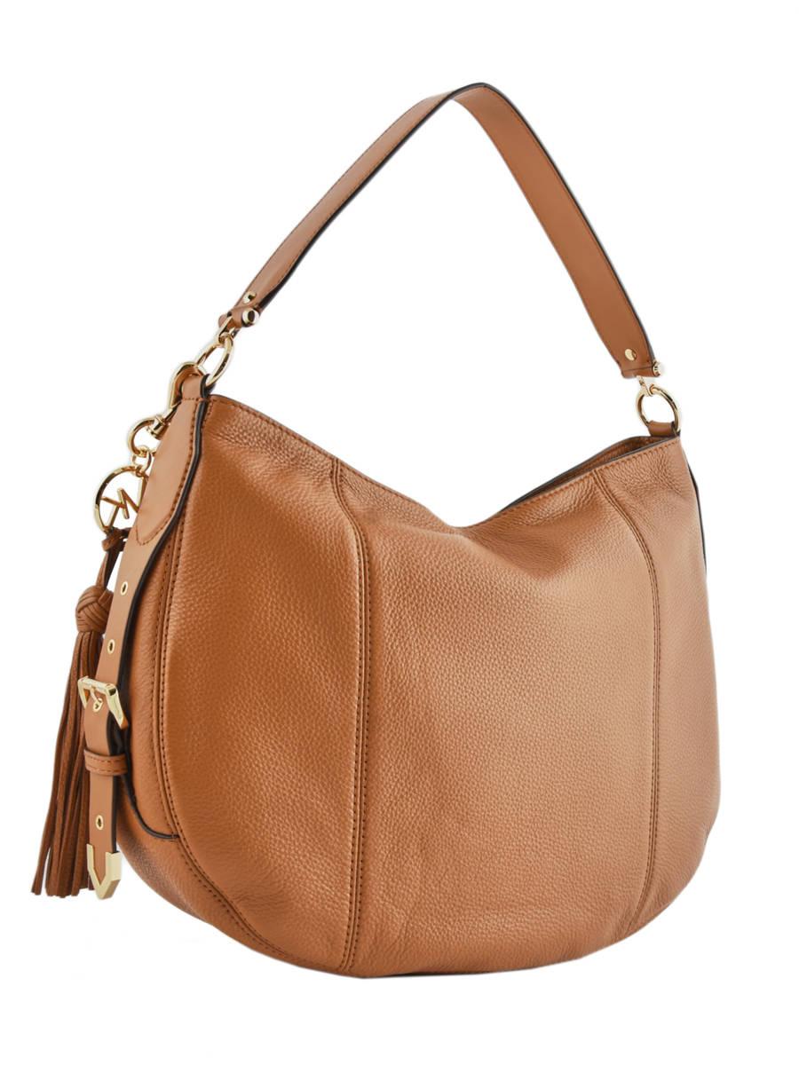 103543ec6c ... Hobo Bag Brooke Leather Michael kors Brown brooke S9GOKH7L other view 3  ...