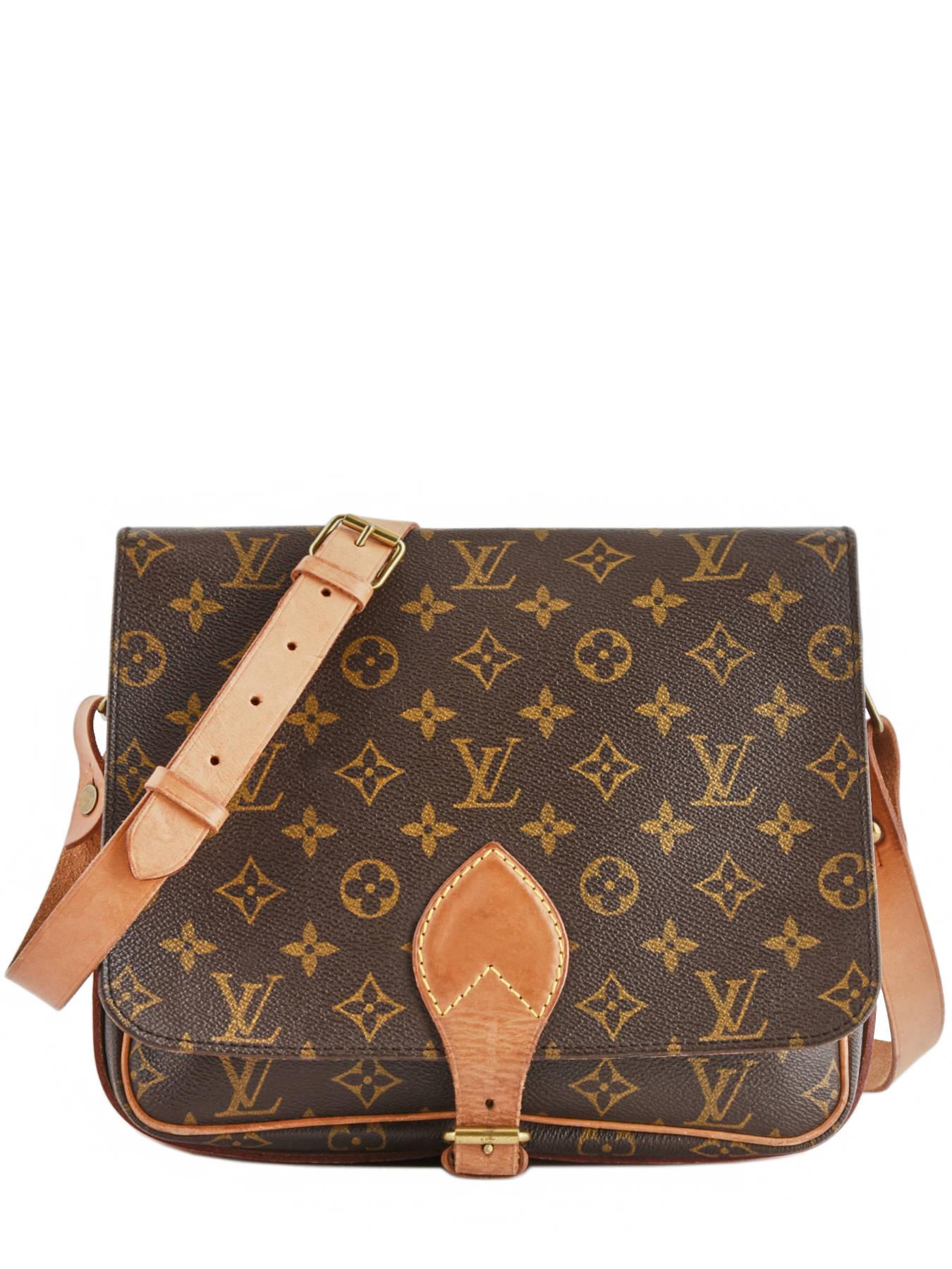 d98f0e3f02ae ... Preloved Louis Vuitton Crossbody Bag Cartouchière Monogram Brand  connection Brown louis vuitton - 00000043 ...