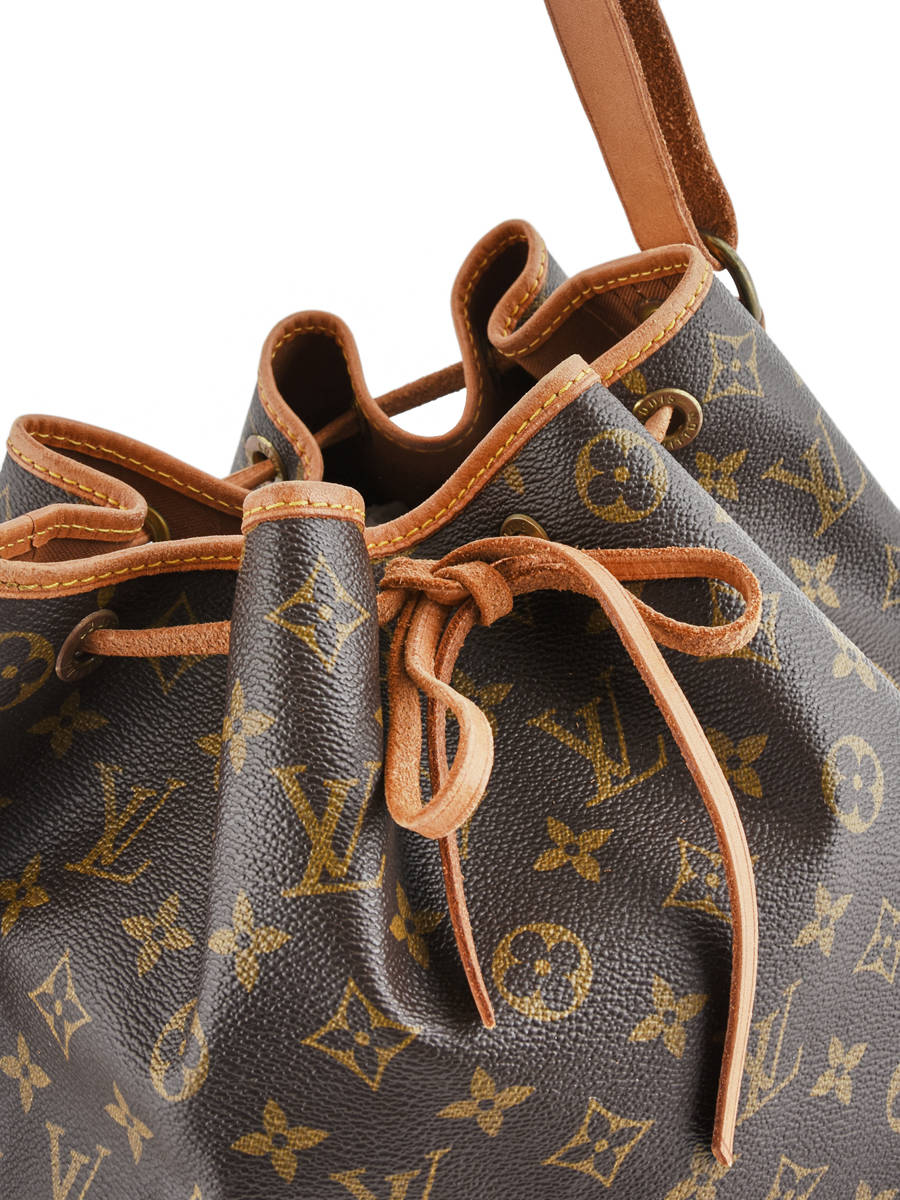 f768b2d7ac ... Sac Bourse D'occasion Louis Vuitton Noe Gm Monogrammé Brand connection  Marron louis vuitton ...
