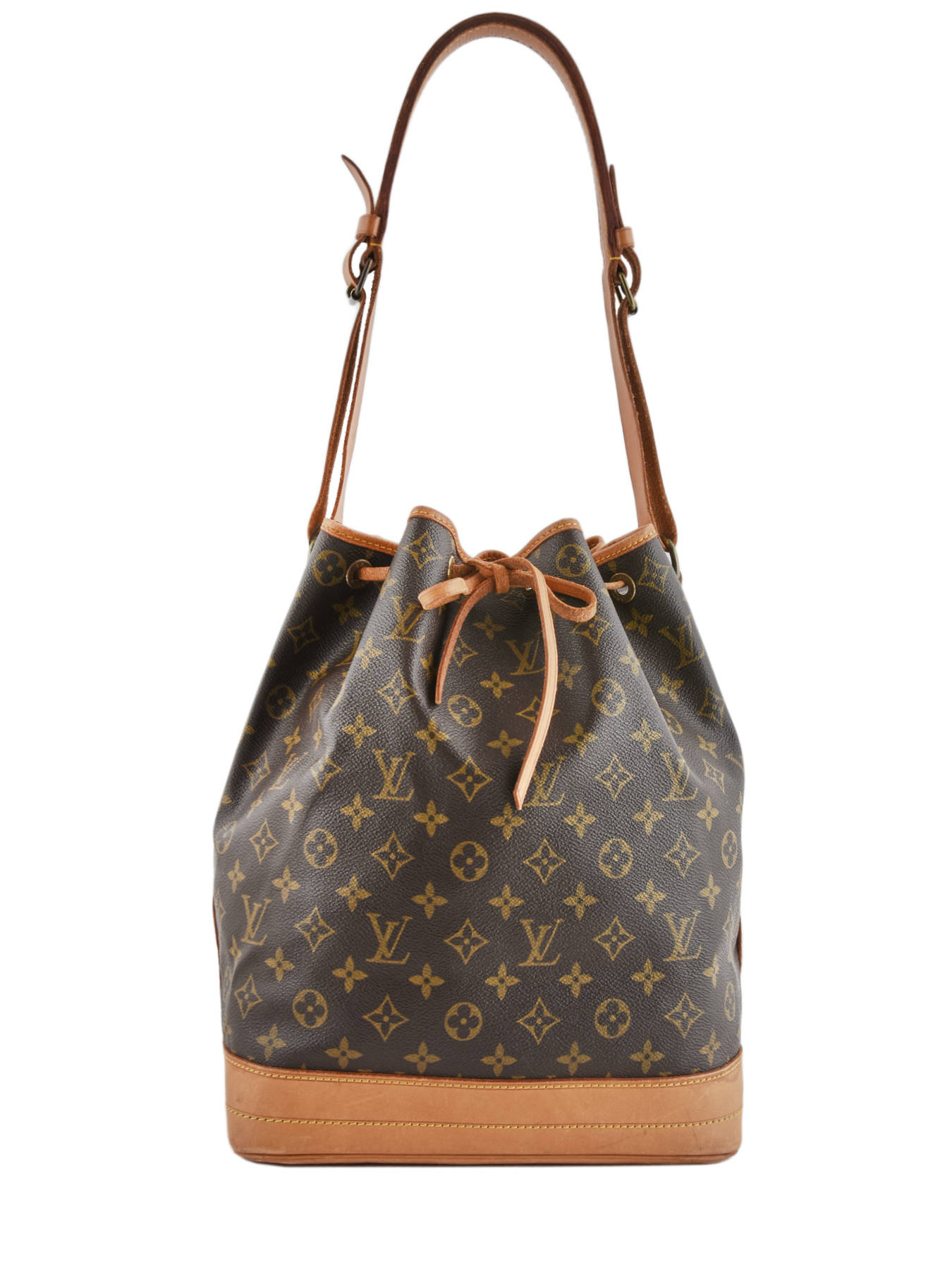 e606a0b6eb ... Sac Bourse D'occasion Louis Vuitton Noe Gm Monogrammé Brand connection  Marron louis vuitton ...