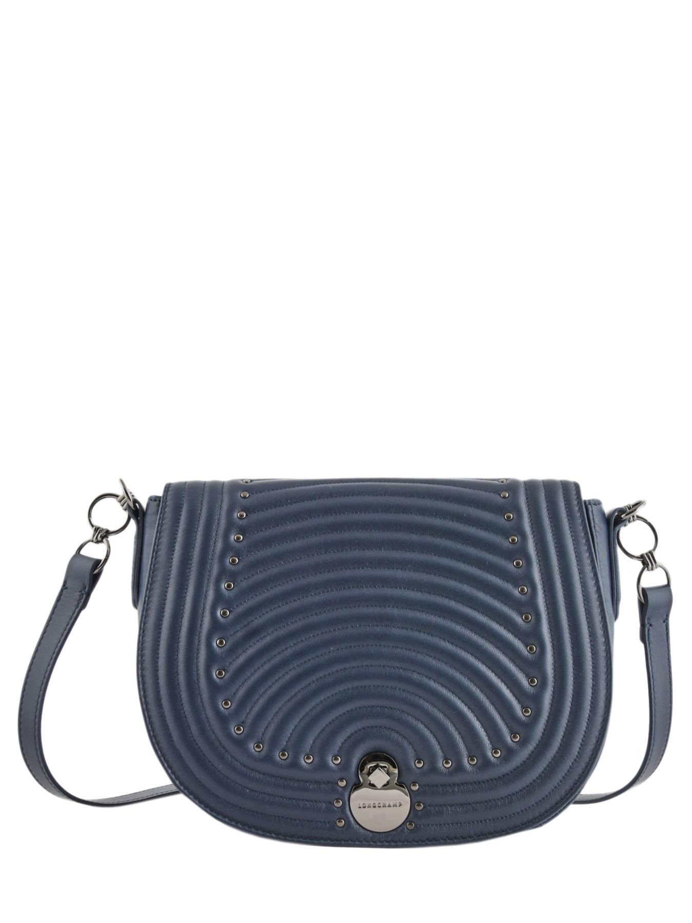 a772985c7 ... Longchamp Cavalcade matelassÉ Messenger bag Blue ...