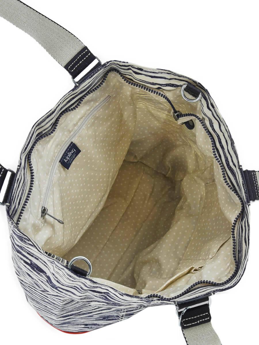 ea9a92382f Shoulder Bag A4 Shopper Kipling Black shopper 10303 other view 4 ...