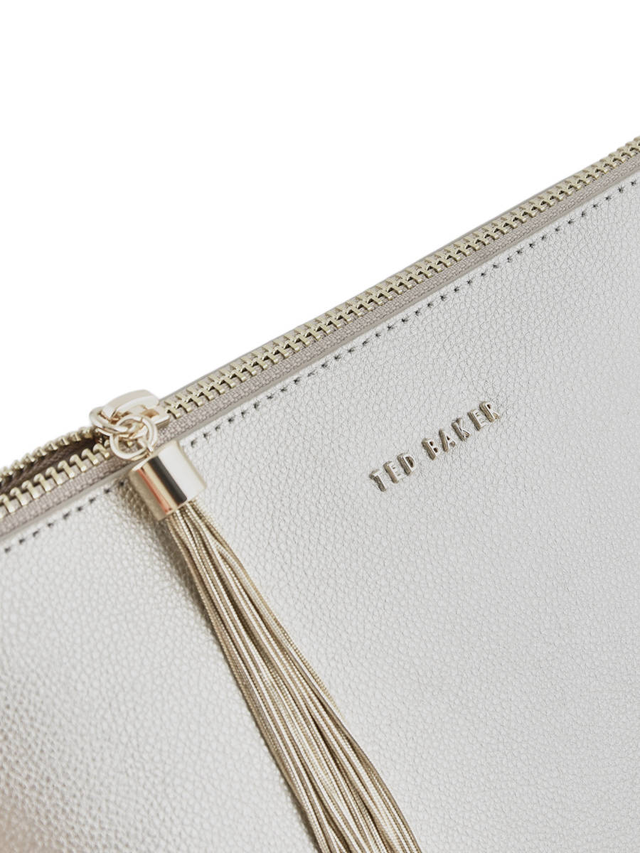 930d350947 ... Crossbody Bag Chain Tassel Leather Ted baker Silver chain tassel TESSSA  other view 1 ...