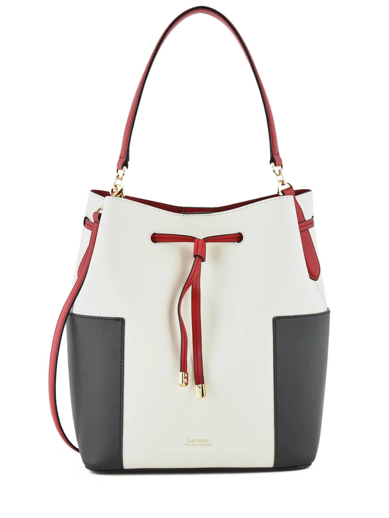 0738aced1b4 ... Debby Color-block Bucket Bag Lauren ralph lauren Black dryden 31738833  ...