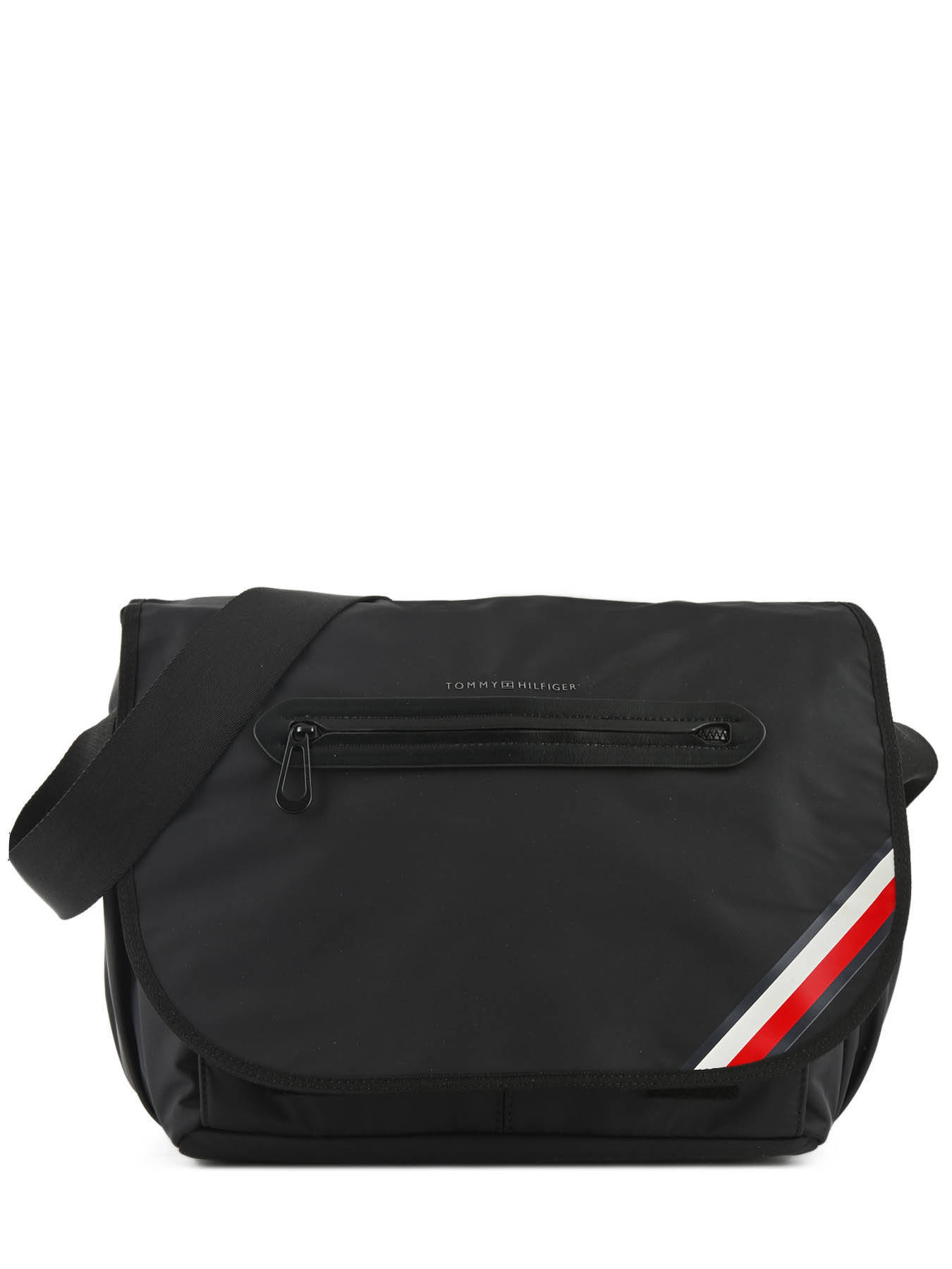 c366aa9eb4 ... Messenger Bag Tommy hilfiger Black easy nylon AM03591 ...