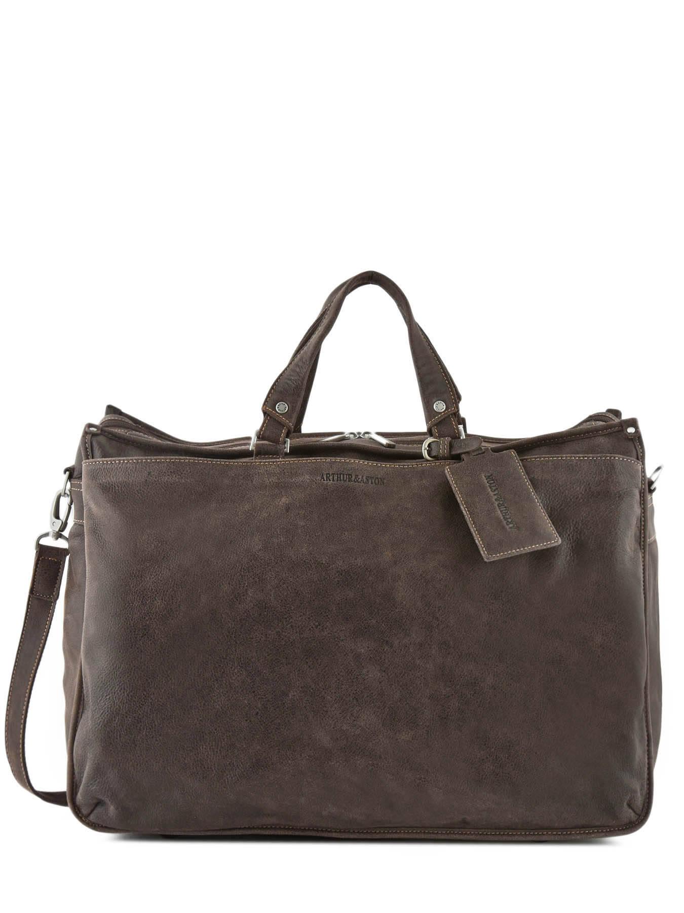 half price save up to 80% quality design Sac de voyage Destroy cuir ARTHUR ET ASTON