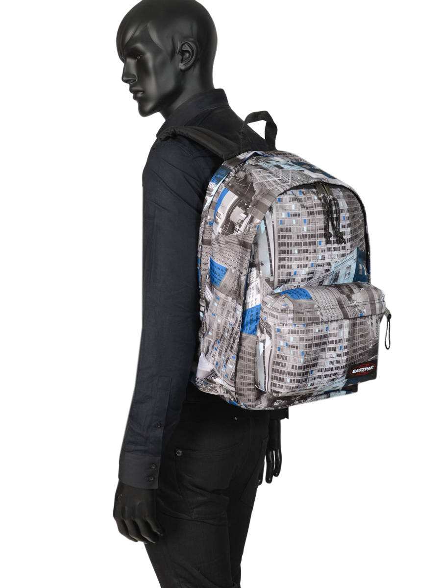 eastpak rugzak back to work 14 inch Zwart