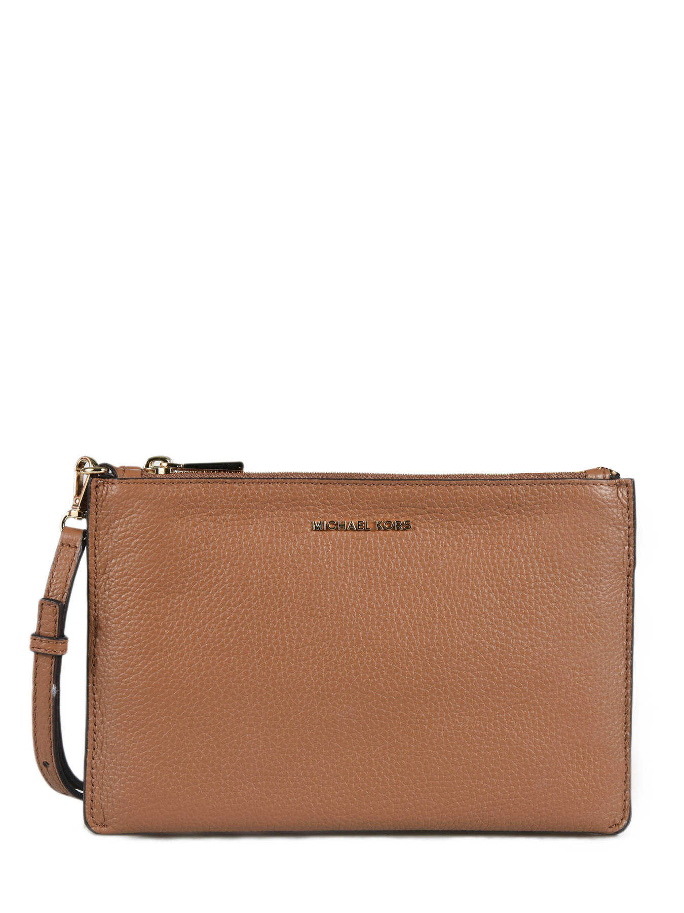 50% off good looking shop for Leather double-pouch crossbody bag MICHAEL KORS