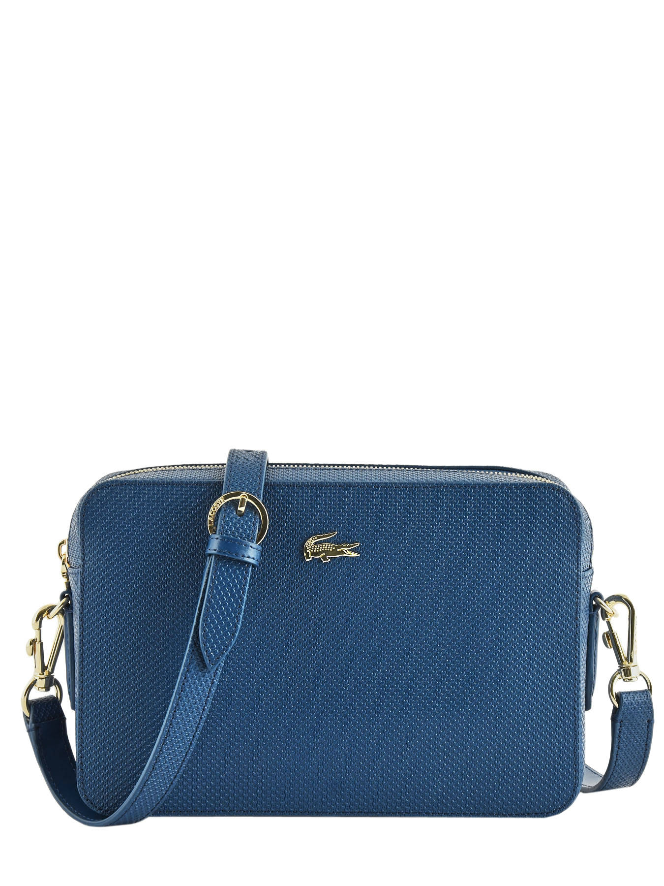 info for best quality 100% quality Sac bandoulière Chantaco cuir LACOSTE