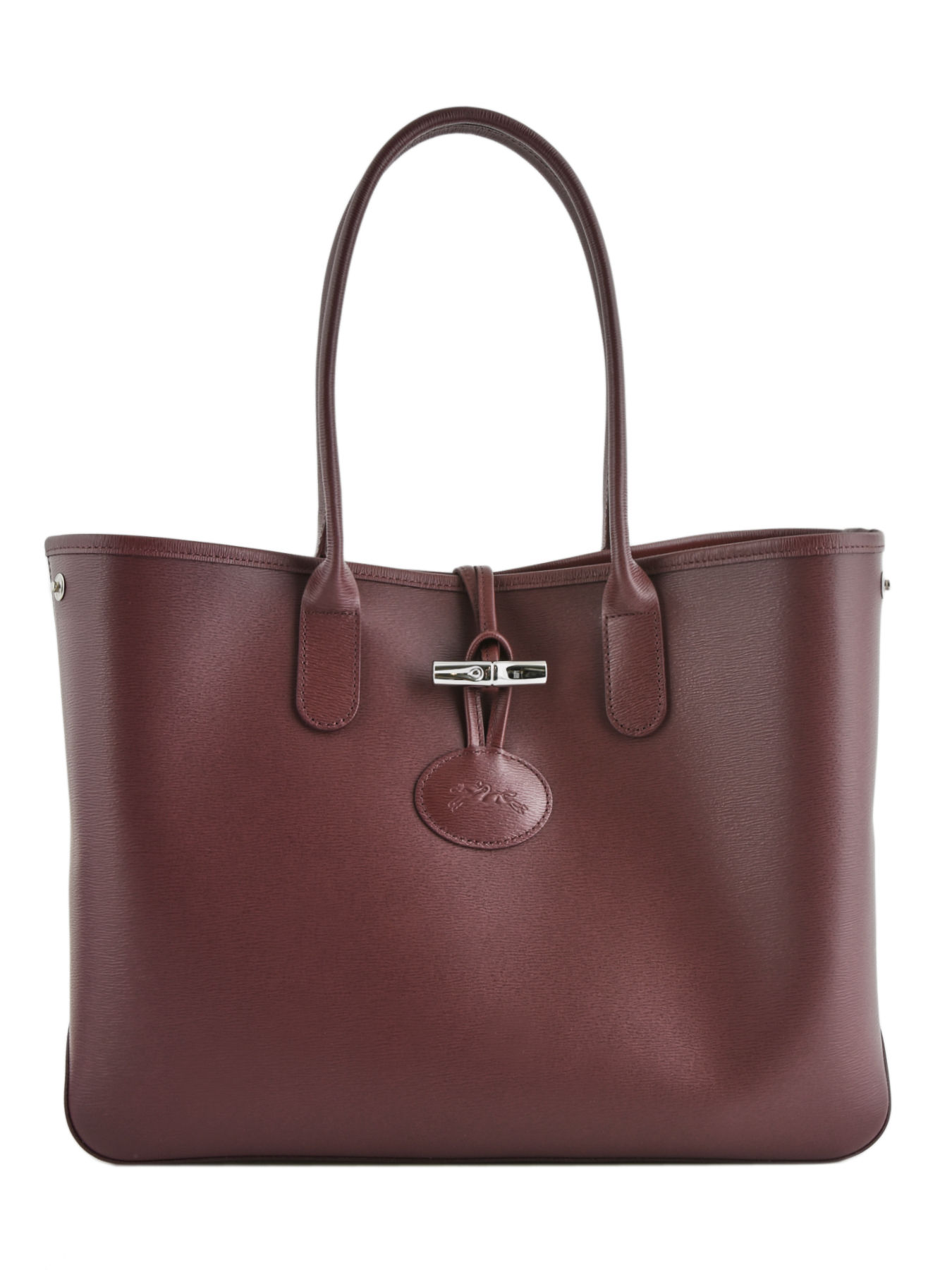 mieux choisir meilleure vente nouveau authentique SAC SHOPPING Roseau leather LONGCHAMP