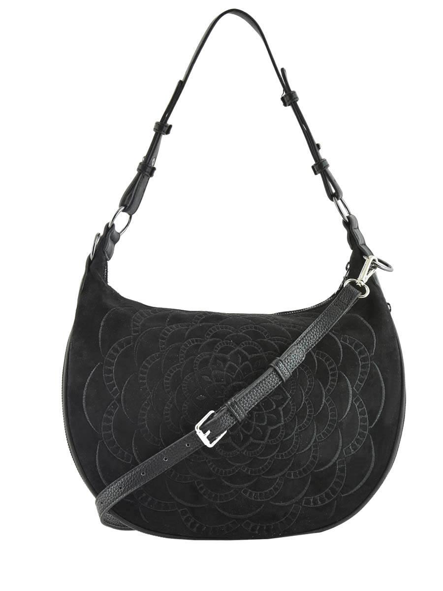 DESIGUAL Sac porté épaule noir