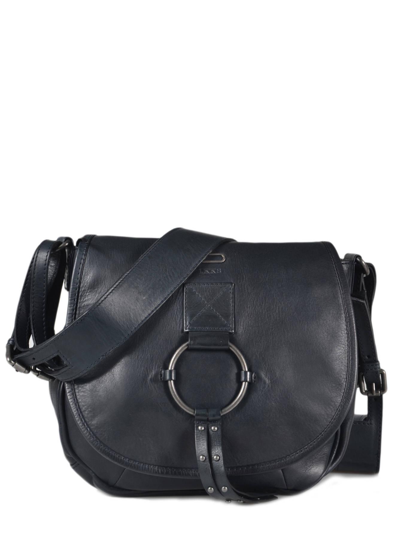 sélection premium 48fb1 f58e3 SAC BANDOULIERE Mexican leather IKKS