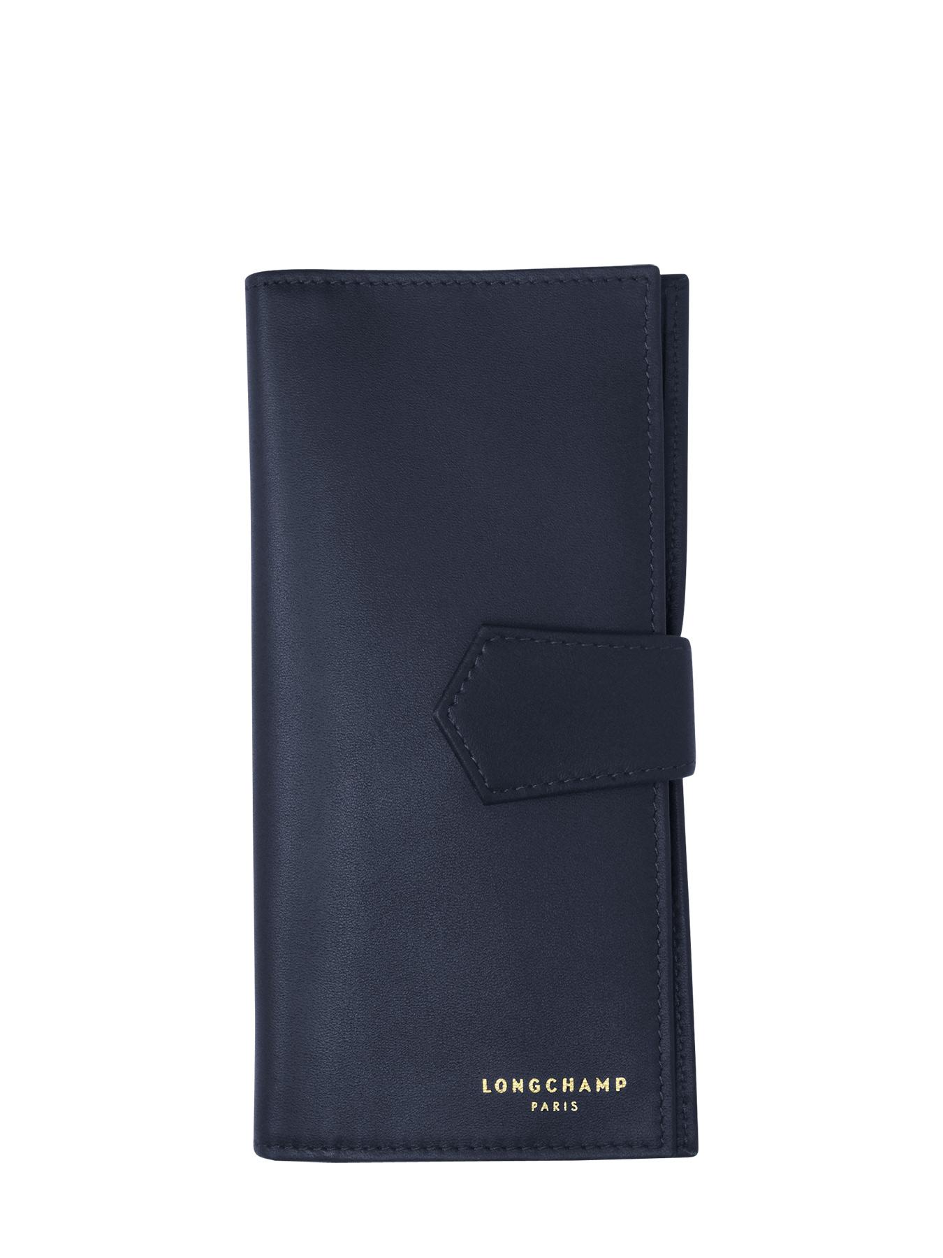 portefeuilles longchamp longchamp 2 0 marine en vente au. Black Bedroom Furniture Sets. Home Design Ideas