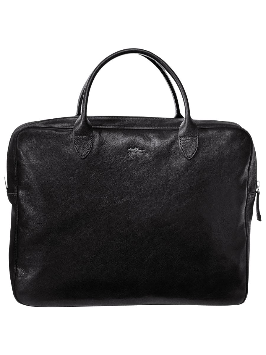 Longchamp Parisis Briefcase Black