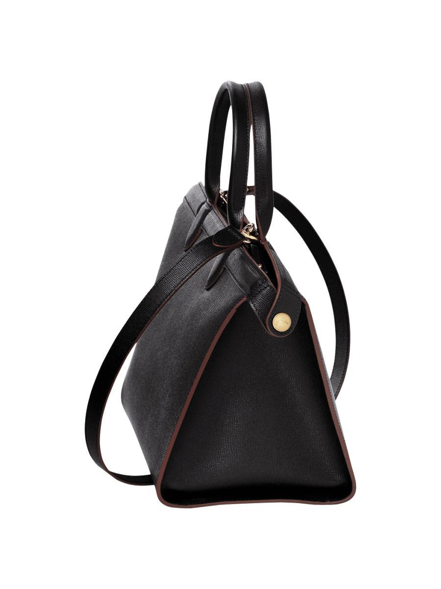 Sac Longchamp Noir Le Pliage : Sac port main longchamp le pliage heritage