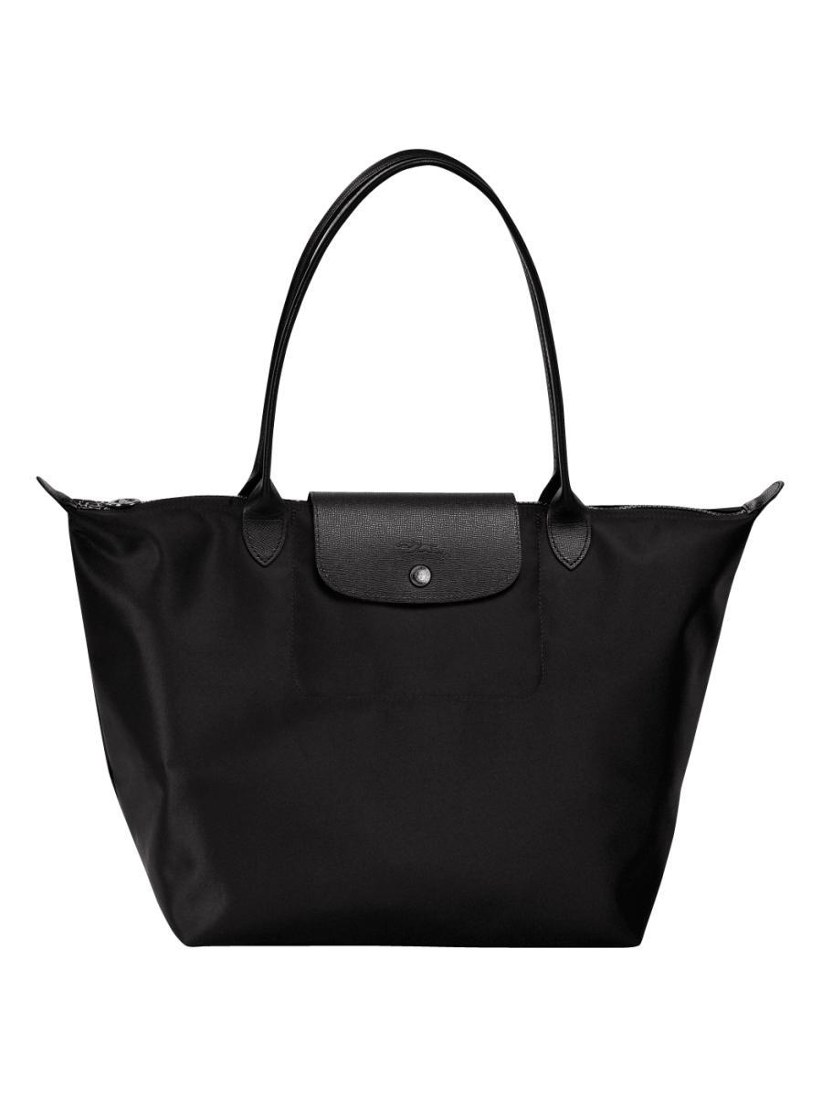 Sac Longchamp Noir Le Pliage : Sac port travers longchamp le pliage neo en
