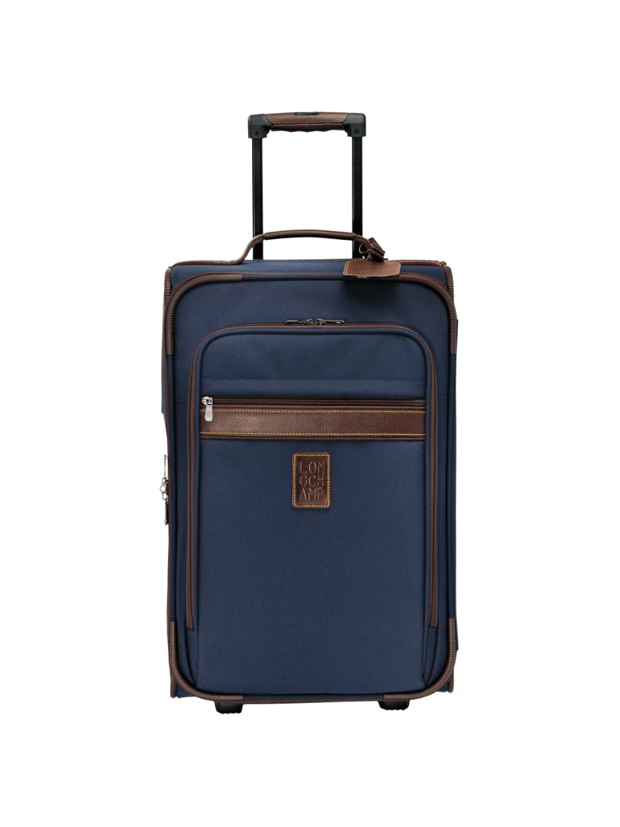 valise roulettes longchamp boxford bleu en vente au meilleur prix. Black Bedroom Furniture Sets. Home Design Ideas