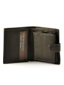 Porte-monnaie Cuir Petit prix cuir Noir elegance SA903-vue-porte