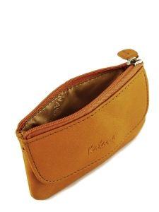 Key Holder Leather Katana Violet vachette gras 853120-vue-porte
