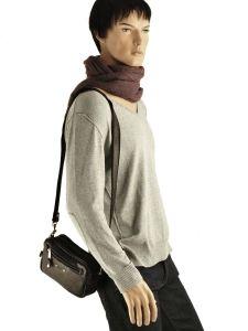 Messenger Bag Foures Black 9400-vue-porte