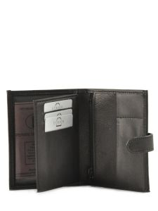 Wallet Leather Etrier Brown E5229-vue-porte