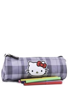 Trousse Hello kitty Noir teddy kitty HOE20009-vue-porte