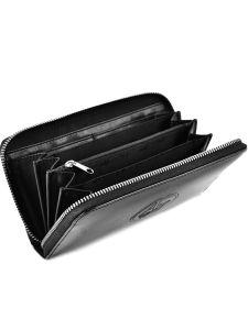 Portefeuille Armani jeans Noir vernice lucida 5V32-RJ-vue-porte
