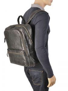 Backpack Gerard henon Black outland 8366-vue-porte