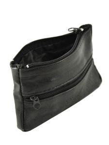 Porte-monnaie Cuir Petit prix cuir Noir basic 00017-vue-porte