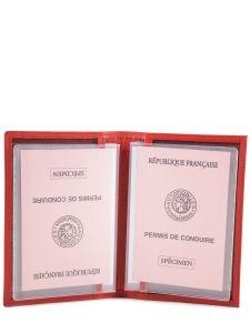 Porte-papiers Cuir Etrier Rouge dakar 200429-vue-porte