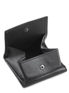 Purse Leather Etrier Black dakar 200096-vue-porte