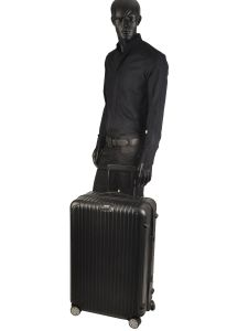 Hardside Luggage Salsa Rimowa Black salsa 83470-vue-porte
