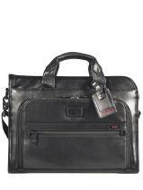 Briefcase 1 Compartment Tumi Black alpha DH96110
