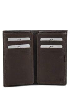 Porte-cartes Cuir Etrier Marron dakar 200006-vue-porte