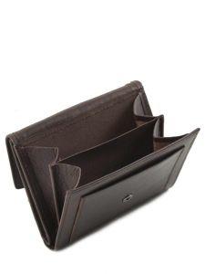 Purse Leather Etrier Brown dakar 200559-vue-porte