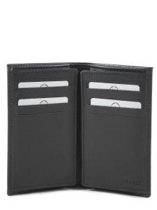 Porte-cartes Cuir Etrier Noir dakar 200006-vue-porte