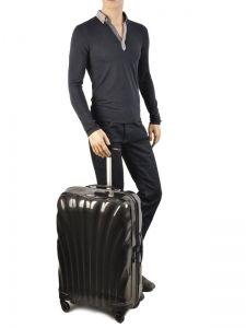 Hardside Luggage Samsonite Black V22106-vue-porte