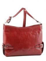 Sac Bandoulière Collet Milano Rouge collet 07