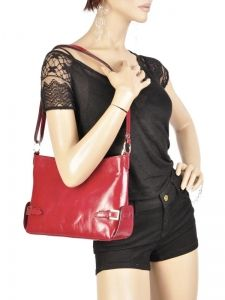 Shoulder Bag Collet Milano Red collet 07-vue-porte