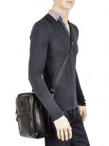 Crossbody Bag Tumi Black alpha 2 leather DH92116-vue-porte