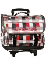 Cartable A Roulette 3 Compartiments Cameleon basic boy 13G2CA41