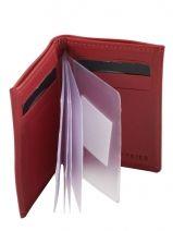 Porte-cartes Cuir Etrier Rose dakar 200013-vue-porte