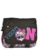 Sac Bandoulière Monster high Noir be a monster MOH37111
