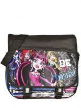 Crossbody Bag Monster high Black be a monster MOH37112