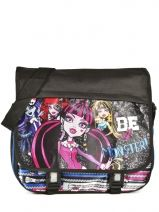 Sac Bandoulière Monster high Noir be a monster MOH37112